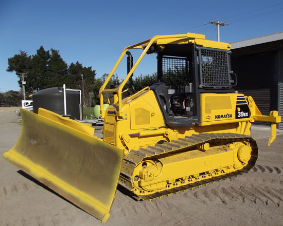 Komatsu D39EX-22 D39PX-22 Bulldozer Official Workshop Service Repair Technical Manual