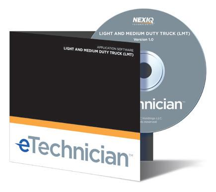 Nexiq eTechnician HDS-en LMT-diagnose software