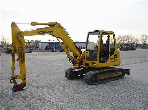 Komatsu PC75R-2 Hydraulic Excavator Official Workshop Service Repair Technical Manual