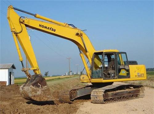 Komatsu PC200-7B PC200LC-7B Hydraulic Excavator Official Workshop Service Manual