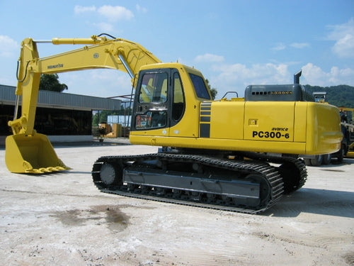 Komatsu PC300-6 PC300LC-6 Excavator Official Workshop Service Repair Technical Manual