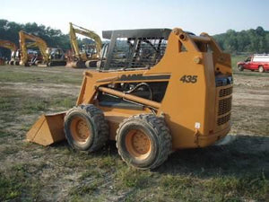 CASE 435 445 Skid Steer Loader Workshop Service Repair Manual - Include Engine Manual !
