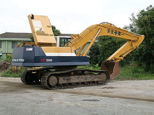 Komatsu PC300LC-5 Excavator With KDC 614TA Engine Official Workshop Service Manual