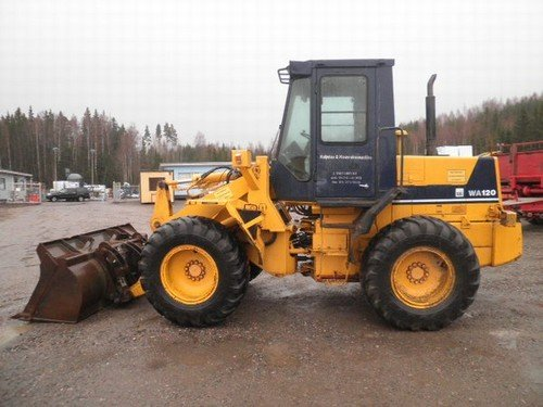 Komatsu avance WA120-3CS Wheel Loader Official Workshop Service Repair Manual