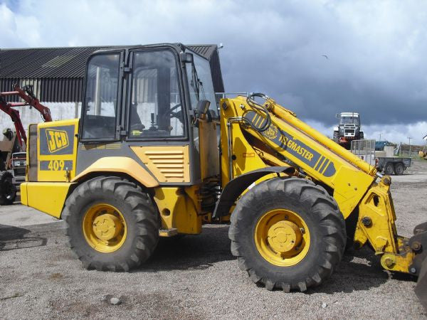 JCB 406 407 408 409 Wheel Loading Shovel Workshop Service Repair Manual