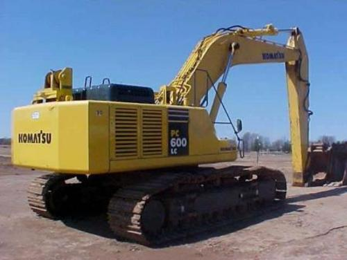 Komatsu PC600-7 PC600LC-7 Hydraulic Excavator Official Workshop Service Manual