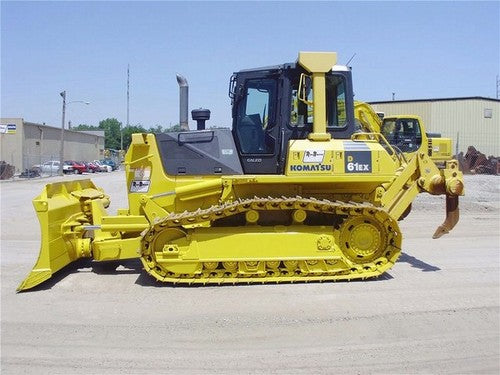 Komatsu D61EX-15E0 D61PX-15E0 Bulldozer Official Workshop Service Repair Technical Manual