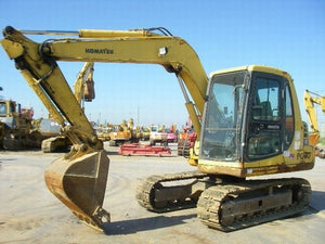 Komatsu PC60-7 Hydraulic Excavator Official Workshop Service Repair Technical Manual