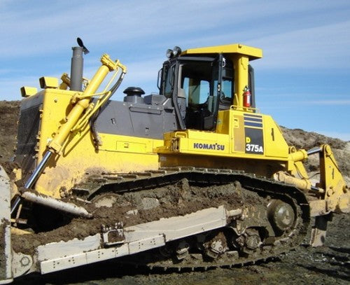 Komatsu D375A-5 Radio Control Specification Bulldozer Official Workshop Service Manual