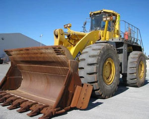 Komatsu Galeo WA700-3 Wheel Loader Official Field Assembly Instruction Manual