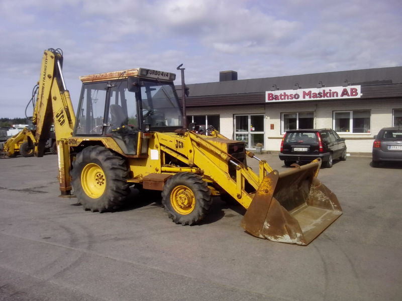 Jcb 3CX 4CX Backhoe Loader Workshop Service Manuel S/N 290000 - 400000