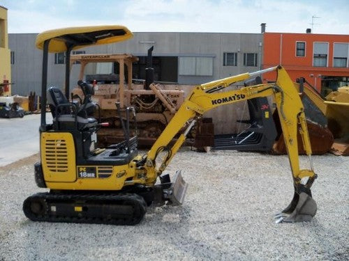 Komatsu PC18MR-3 Mini Excavator Official Workshop Service Repair Technical Manual