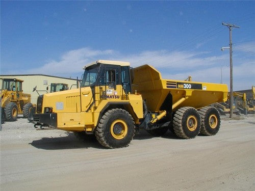 Komatsu Galeo HM300-1 Articulated Dump Truck Official Field Assembly Instruction Manual