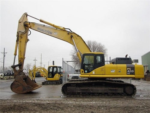 Komatsu PC400-7E0 PC400LC-7E0 Hydraulic Excavator Official Workshop Service Manual