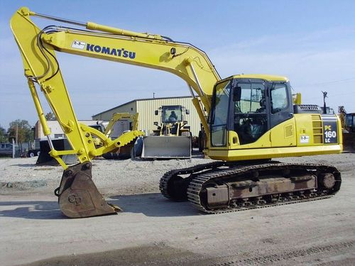 Komatsu PC160LC-7E0 Excavator Official Workshop Service Repair Technical Manual