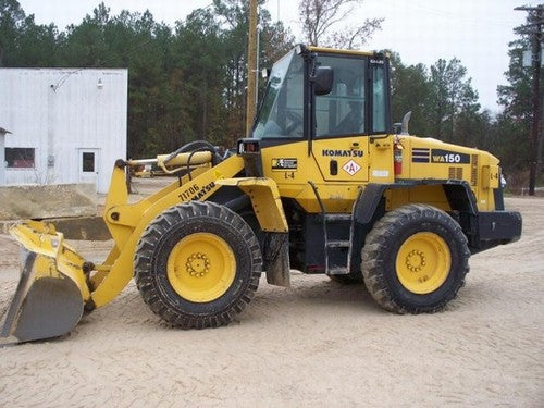 Komatsu WA150-5 Wheel Loader Official Workshop Service Repair Technical Manual