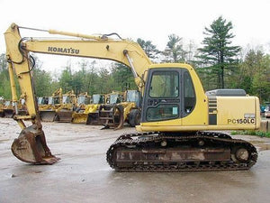 Komatsu PC150LC-5 Hydraulic Excavator Official Workshop Service Repair Technical Manual