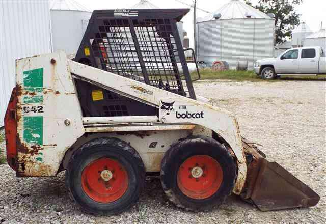 Bobcat 642b Skid Steer Loader Workshop Service Manual