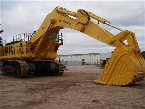 Komatsu PC1600-1 Excavator Official Field Assembly Instruction Manual