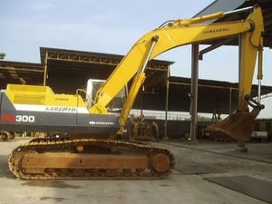 Komatsu PC300-5 Mighty PC300LC-5 Mighty Hydraulic Excavator Official Workshop Service Manual