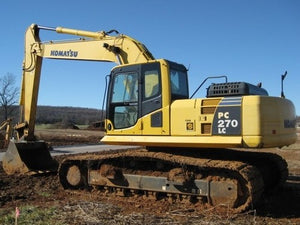 Komatsu PC270LC-6LE Hydraulic Excavator Official Workshop Service Repair Technical Manual