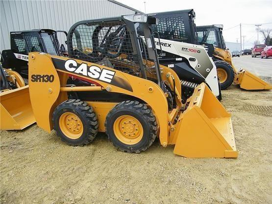 CASE SR130 SR200 SR150 SR220 Alpha Series Skid Steer Loader Service Manual