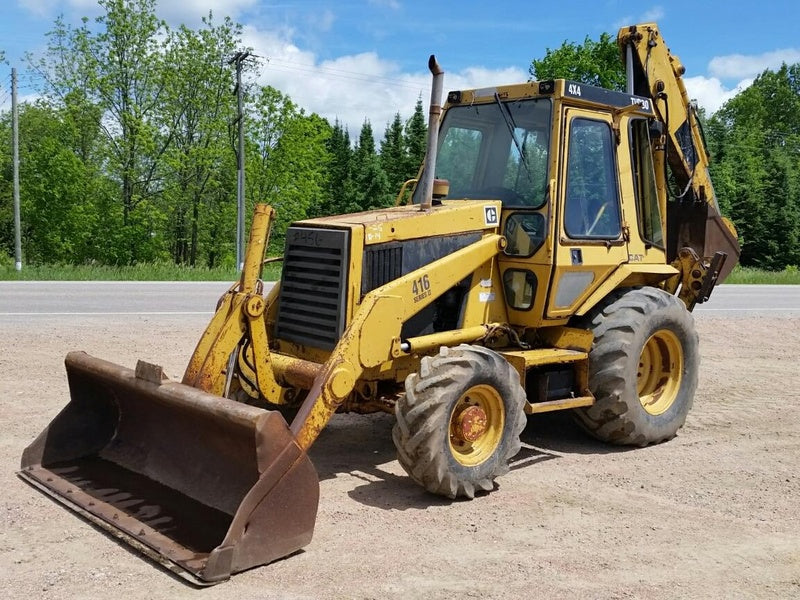 Caterpillar 416E III (Series 3) Backhoe Loader Official Workshop Service Repair Manual S/N : GRR