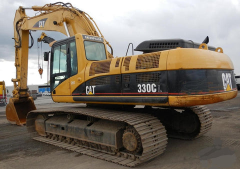 caterpillar wiring diagram caterpillar c7 c9 c15 acert service caterpillar 330c l excavator electrical system manual wiring diagrams