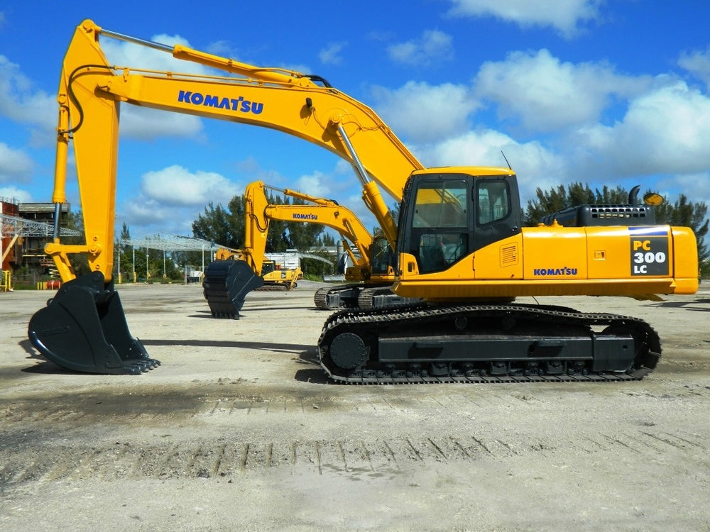 Komatsu Galeo PC300LC-7E0 PC300HD-7E0 Hydraulic Excavator Official Workshop Service Manual