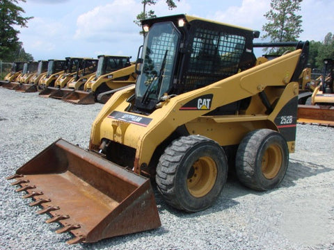 caterpillar wiring diagram caterpillar c7 c9 c15 acert service caterpillar 242b 242b2 246b 248b 252b 252b2 262b 268b skid steer loaders electrical system schematics