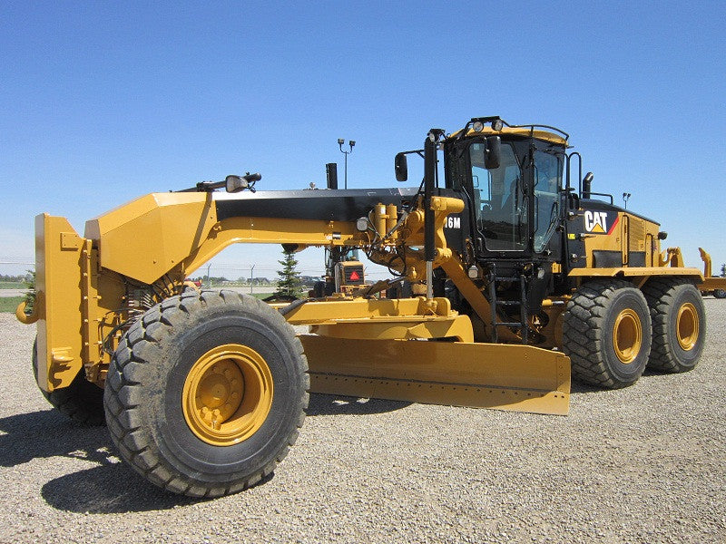 Caterpillar 16m Motor Grader Operation And Maintenance