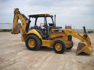 Caterpillar 420E and 430E Backhoe Loader Electrical System Manual