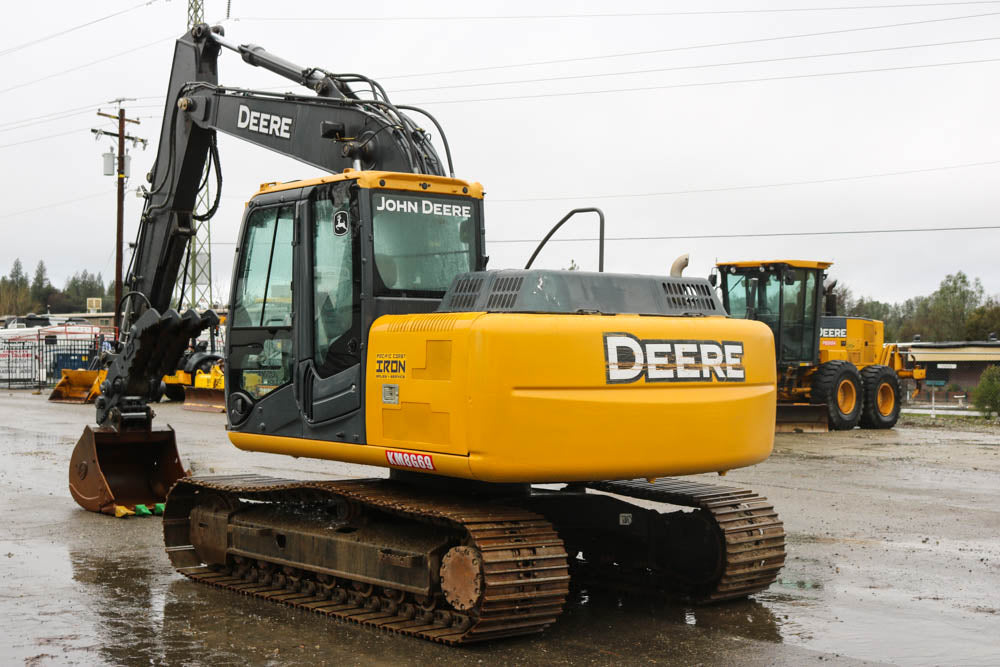 John Deere 120D Excavator Official Operation & Test Technical Manual