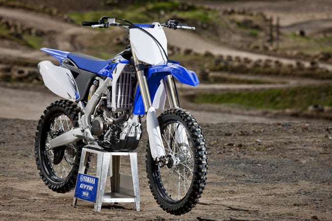 Yamaha YZ250F 4 tiempos Dirt Bike Official Workshop Service Manual de reparación 2007-2013