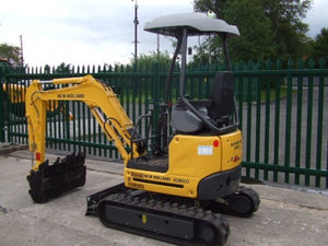 New Holland E18SR Mini Crawler Excavator Official Workshop Service Repair Technical Manual