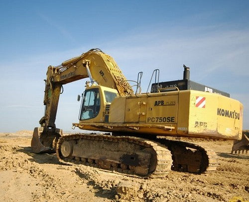 Komatsu PC750-6 PC750SE-6 PC750LC-6 Hydraulic Excavator Official Field Assembly Instruction Manual