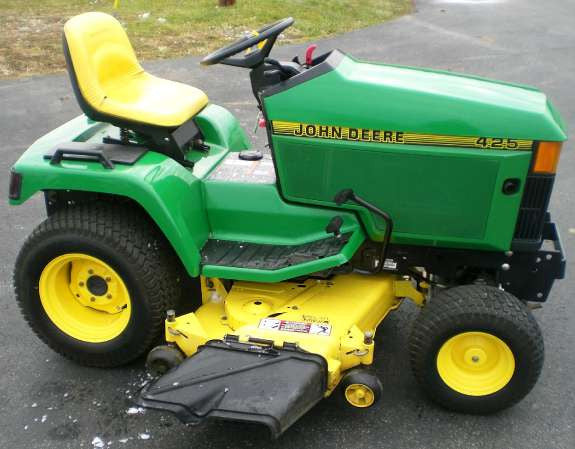 John Deere 425, 445, and 455 Lawn and Garden Tractors Technical Service Manual