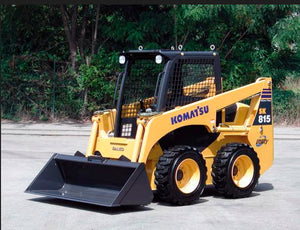 Komatsu SK714-5 SK815-5 SK815-5 Turbo Skid Steer Loader OEM Service Manual #2