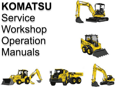Komatsu 560C Dressta Wheel Loader Official OEM Workshop Service Repair Manual