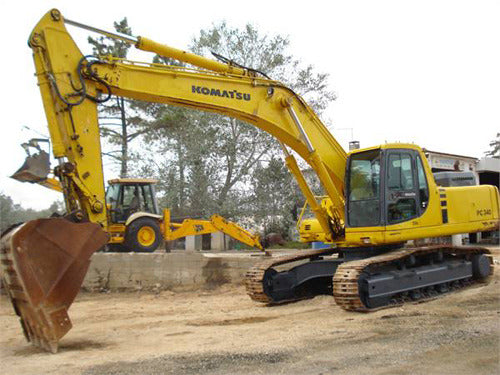 Komatsu PC340LC-7 PC340NLC-7 Hydraulic Excavator Official Workshop Service Manual