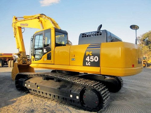 Komatsu PC450-8 PC450LC-8 Hydraulic Excavator Official Workshop Service Manual