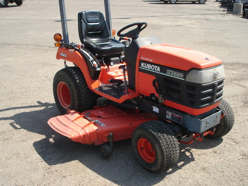Kubota BX1800 BX2200 Tractor Official Workshop Service Repair Manual