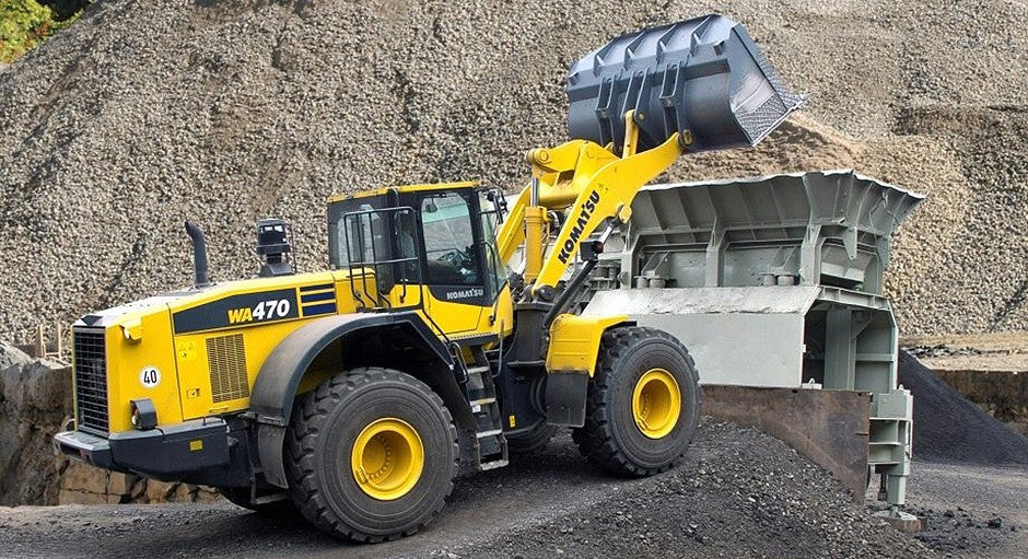 Komatsu WA470-7 Wheel Loader Officiel OEM Workshop Service Manuel de réparation