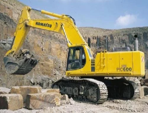 Komatsu PC600-6 PC600LC-6 Hydraulic Excavator (Loading Shovel) Official Field Assembly Manual