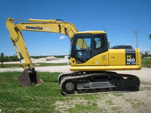 Komatsu PC160LC-7 Hydraulic Excavator Official Workshop Service Repair Technical Manual #3