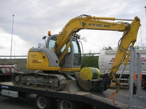 New Holland E70SR Midi Crawler Excavator Official Workshop Service Repair Technical Manual
