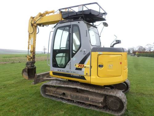 New Holland E70BSR ROPS Tier III Midi Crawler Excavator Official Workshop Service Repair Technical Manual