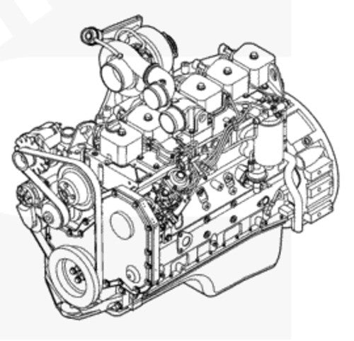 Cummins B3.9, B4.5, B5.9 Industrial Engines Owner's Manual