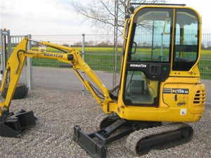 Komatsu PC15R-8 Mini Excavator Official Workshop Service Repair Technical Manual