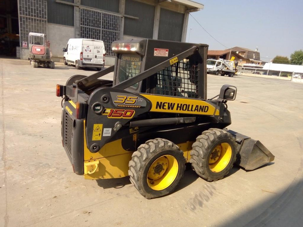 New Holland L140 L150&L150 (Cab Upgrade Machines) Skid Steer Loader Official Workshop Service Repair Technical Manual